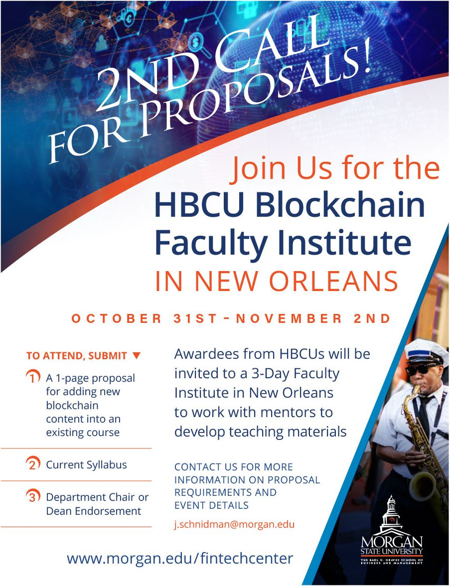HBCU Blockchain Faculty Institute