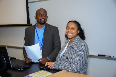 George Micheni and Kiley Williams, Morgan State University